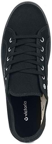 Victoria Per Plataforma negro Donna Negro Sneakers Nero rv8IAPrz