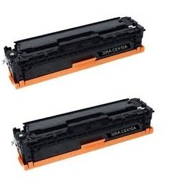 TopTech Toners Remanufactured Toner Cartridge Replacement forHP CE410A (305A) - (Black, 2 ()