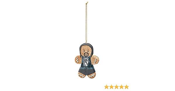 WWE AJ Styles Gingerbread Ornament