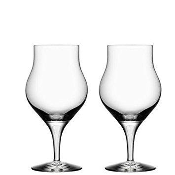 Orrefors Intermezzo Satin - Orrefors Intermezzo Satin 8.6 Ounce Snifter Glass, Set of 2