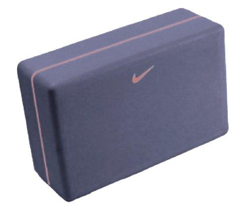 Nike Essential Yoga Block Purple with Pink Stripe Nike Yoga Block