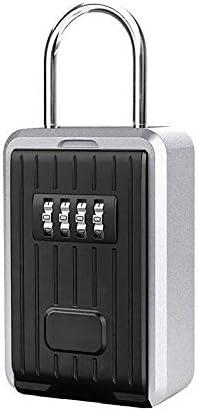 Hihey Caja Fuerte para Llaves con código de 4 dígitos Caja Fuerte para Llaves Montado en la Pared para Llave de Repuesto Caja de Llaves a Prueba de Intemperie: Amazon.es: Hogar