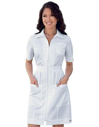 Grey\'s Anatomy 3 Pocket, Zip Front Dress Lab Coat Jacket Extra Large ...