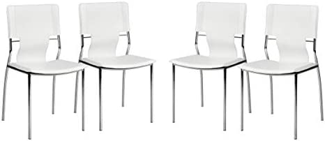 Zuo Trafico Dining Chair Set of 4