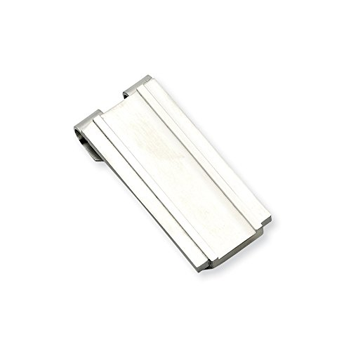 Engravable Stainless Steel Spring Loaded Money (Spring Loaded Money Clips)