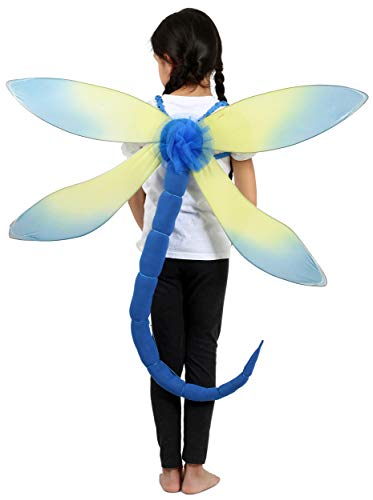 Princess Paradise Blue Dragonfly Child's Costume, One
