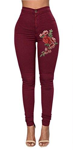 High Waist Trouser Jeans - 1