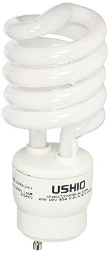 Ushio BC4103 3000550 - CF26CLT/2700/GU24 Twist Style Twist & Lock Base Compact Fluorescent Light (Gu24 Twist Style Twist)