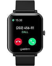 Zeblaze GTS Waterproof Sport Smart Watch with Heart Rate Sensor - Black