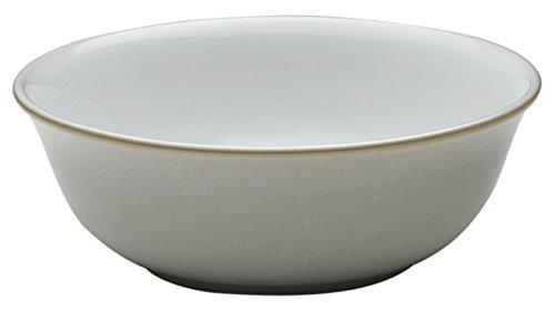 Denby Linen Cereal Bowl, Medium, Cream