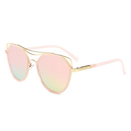 Lady Sunglasses UV Protection sunglasses Outlet D3719,Black box purple color ()