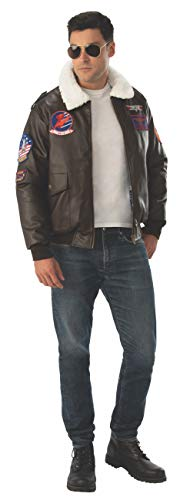 Rubie's Adult Classic Top Gun Movie Costume Bomber Jacket, X-Large ()