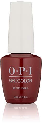 OPI GelColor, We the Female, 0.5 Fl. Oz. gel nail polish