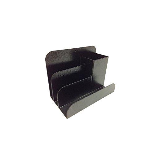(Sandusky Buddy 0500-4 Steel Desk Top Organizer, Black)