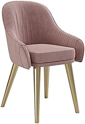 Amazon.com: YQQ-Lazy Sofa Modern Soft Velvet Chair Dining ...