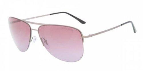 Gafas de Sol Giorgio Armani AR6007 MATTE BRUSHED DARK SILVER ...