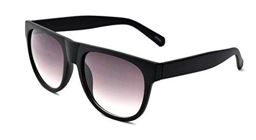 Zoo York Men's Rectangular Sunglasses, Matte Black Woodgrain Pattern Frame, APG Smoke Flash Mirror Lens, - Zoo Sunglasses York