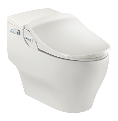 Cool Alpha Ix Hybrid Bidet Toilet Seat In Elongated White Endless Warm Water Stainless Steel Nozzle 4 Wash Functions Led Nightlight Warm Air Alphanode Cool Chair Designs And Ideas Alphanodeonline
