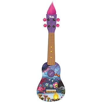 first act tr287 trolls mini guitar ukulele musical instruments. Black Bedroom Furniture Sets. Home Design Ideas