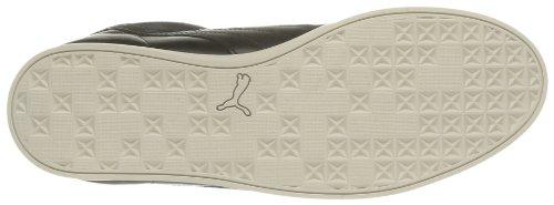 Puma Tarrytown Corduroy - Zapatos de Cordones de cuero hombre negro - Noir (Black/White Swan/Brown)