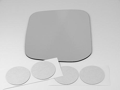 97-04 Mitsu Montero Sport Left Driver Mirror Glass Lens w/Adhesive USA