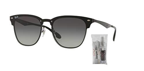 Gradient Rb3576n Dark Ray Grey Demi ban Blaze grey Clubmaster Gloss Black Sunglasses TCqZPHx