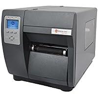 Datamax I12-00-08400007 I-4212E Mark II Barcode Printer, 203 DPI/12 IPS, SER/PAR/USB, US Power Cord, Internal Rewinder, 3 Media Hub, 4 Direct Thermal