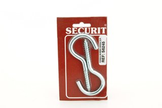 Securit Crochets à vis ZP S6242