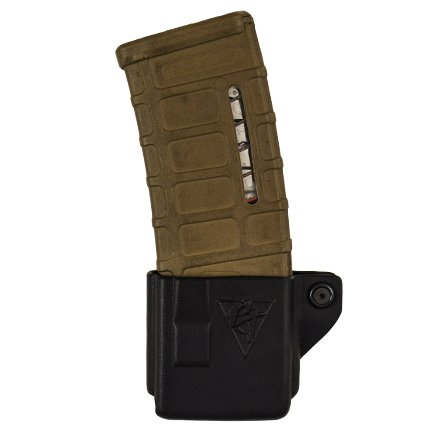 AR 556/223 Single Mag Pouch - Belt Clip - Left Side Carry (Right hand Shooter) - 1.5