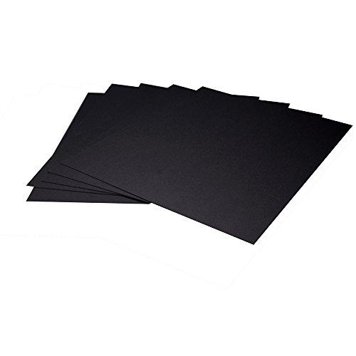 - Arista II Mat Board, 8.5x11 -Black/Black(24416400)