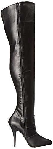 Stivaletti Blk Faux Donna Pleaser 3010 Seduce Nero Leather Black qCWBvxT