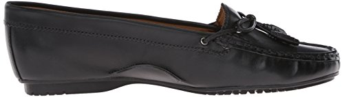Ballet Tie Leather Sebago Black Meriden Women's Flat qanA7T