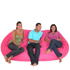 Cozy Sack Bean Bag Chair - Extra Large 7.5'