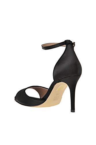 Tissu Sandales Bibi Mcglcat000005074e Lou Noir Femme X6TqI