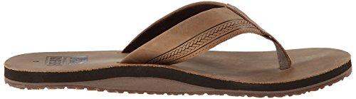 Reef REEF SUR - Sandalias de piel para hombre Marrón (Bronze Brown)