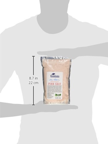 Himalayan Pink Salt Fine Grain Crystal Sea Salt, 2 Pounds (2 Lbs)