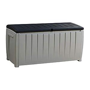 Keter Novel 340L Grey Outdoor Storage Box