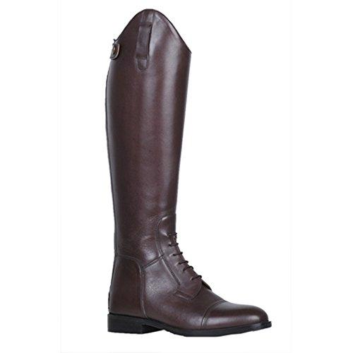 HKM Reitstiefel -Spain-, Softleder, Normal/Weit Stivali Da Equitazione, Uomo marrone