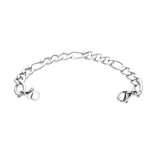 Divoti Figaro Stainless Steel Medical Alert Replacement Bracelet -6.5
