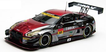 (Ebro 1/43 GAINER TANAX GT-R SUPER GT300 2015 Champion Car No.10 finished product)