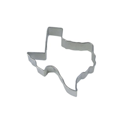 Dress My Cupcake Texas State Cookie Cutter, 3.5-Inch ()