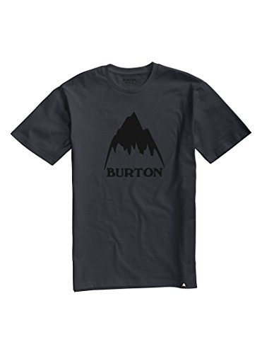 Burton Men's Classic Mountain High Short Sleeve T-Shirt, Phantom, XX-Large