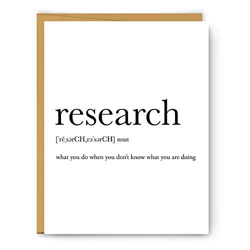 RESEARCH definition - Unframed art print poster or greeting card (Best Definition Of Research)