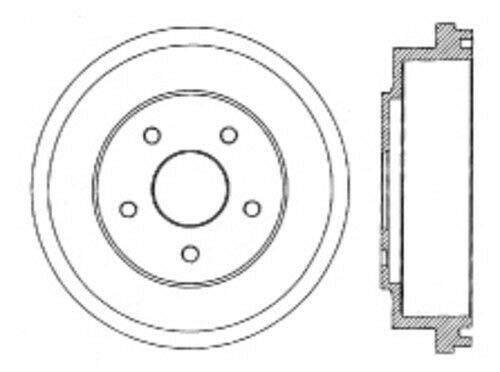 Centric Parts 123.40013 Brake Drum
