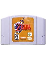 GaoHR 64 bitars spel legend av zeld serie videospel patron konsol kort Engelska Språk US Version Passform för Nintendo (Color : Zeld Ocarina of Time)