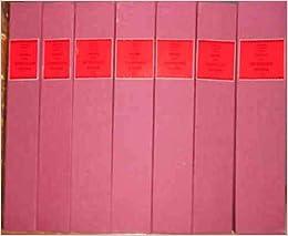 HISTORIA DE LOS HETERODOXOS ESPAÑOLES, por el doctor... VII volúmenes, correspondientes a las Obras Completas. 2ª edición refundida. Ordenada y anotada por Don Adolfo Bonilla y San Martín y anotada y dirigida