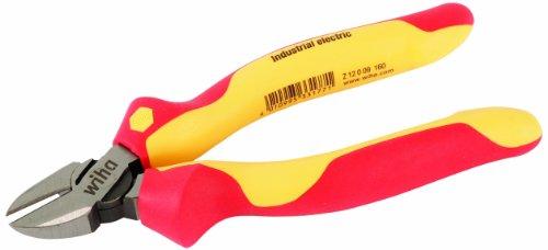 Wiha Diagonal Cutter (Wiha 32933 6.3-Inch Insulated Industrial Diagonal Cutter)