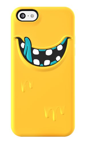 Switcheasy Silicone Case (SwitchEasy MONSTERS Silicon Case for iPhone 5C - Retail Packaging - Freaky)