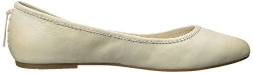 Vintage de Frye Zapatos para mujer Cordones Ballet de Soft Leather 72165 Regina White canvas Off qXwrfX71