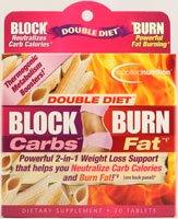 Nutrition Appliquée Blocker double régime de Carb, 20 Count